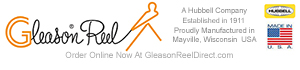 All Gleason Reel products are manufactured in Mayville Wisonsin, USA